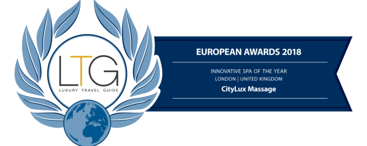 CityLux Massage Wins Innovative SPA of the Year 2018 Europe award
